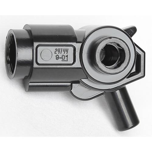 Lego 1x Minifigure Weapon Gun Blaster Inside Axle Holder 24144
