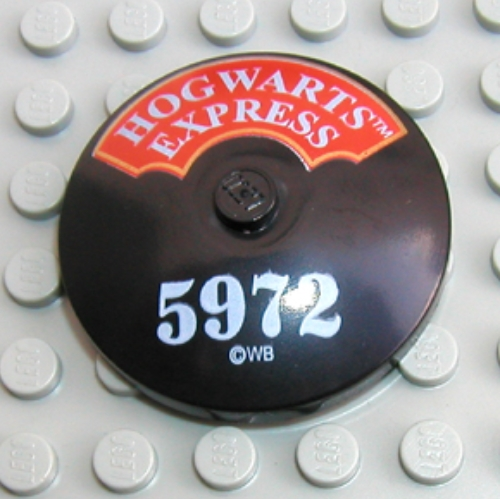 LEGO PART 3960px6 HOGWARTS EXPRESS 5972 INVERTED RADAR DISH BRAND NEW