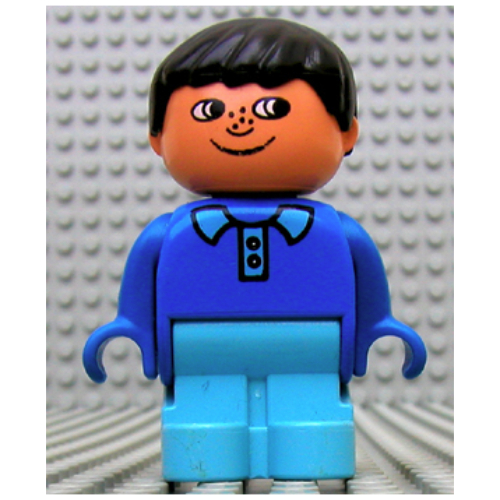 Lego Part 4943pr0003 Duplo Figure Early With Joined Legs Light