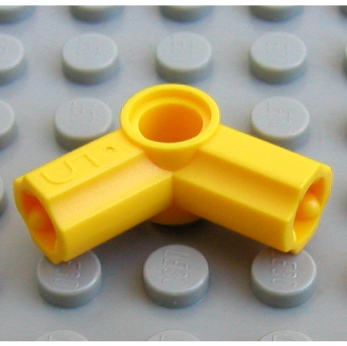 Technic Axle and Pin Connector Angled #5-112.5° LEGO 32015 White x 4