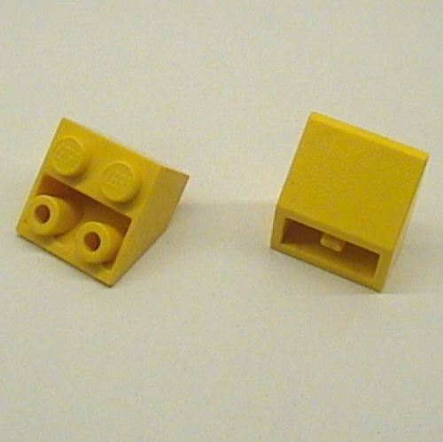 LEGO PART 3660b Slope Inverted 45° 2 X 2 [Ovoid Bottom Pin