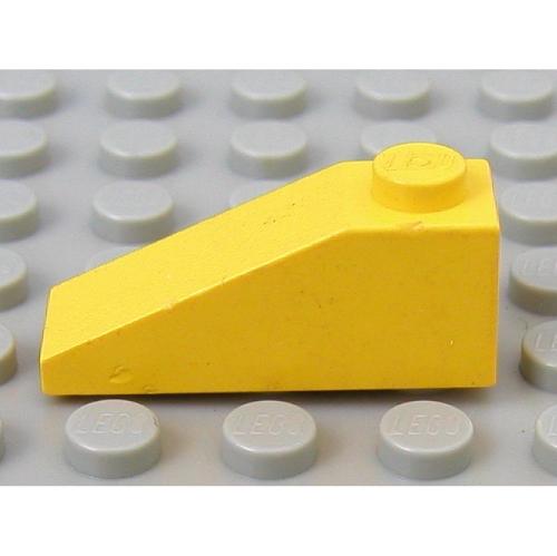 Yellow 2x  Lego  4286 Slope 33 3 x 1