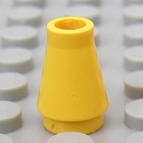 Missing Lego Brick 4589 TrRed x 6 Cone 1 x 1.