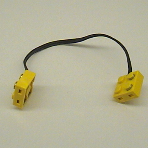LEGO PART 5306bc020 Electric, Wire with Brick 2 x 2 x 2/3 Pair, 20 ...