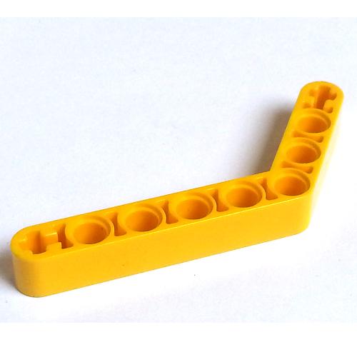 Lego Technic 2x Liftarm 1x9 bent courbé orange 6629 NEUF 6-4