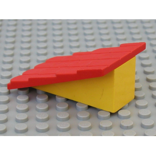 Lego Part 787c01 Fabuland Roof Support With Red Roof Slope Without