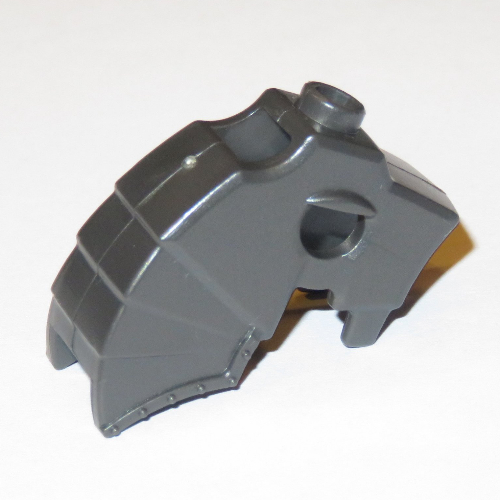 LEGO PART 89524 Horse Battle Helmet Top Stud for Horn [Unicorn] |  Rebrickable - Build with LEGO