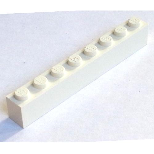 Lego 3008 x2 Brick 1 x 8 Light Bluish Grey