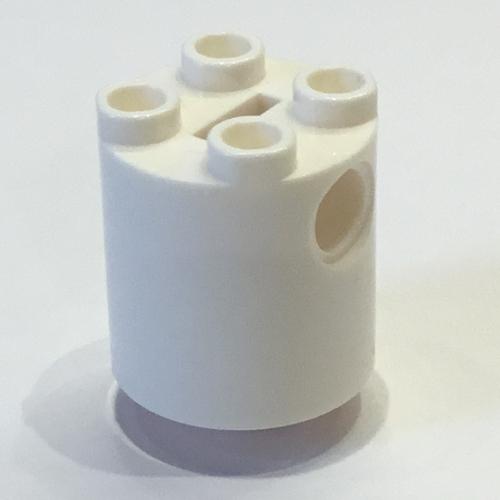LEGO® Black Brick Round 2 x 2 x 2 Robot Body Bottom Axle Holder Part 30361c