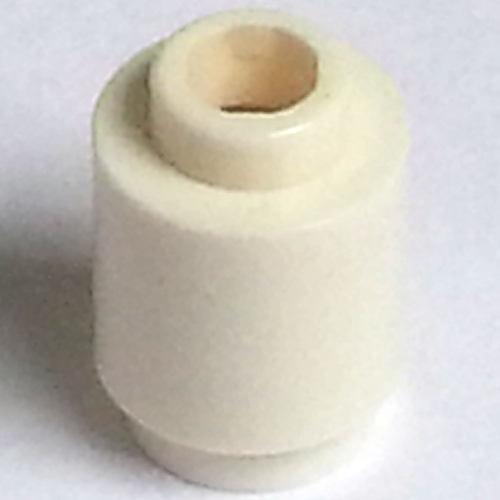 QTY 20 Yellow Brick LEGO Parts Round 1 x 1 Open Stud- No 3062b