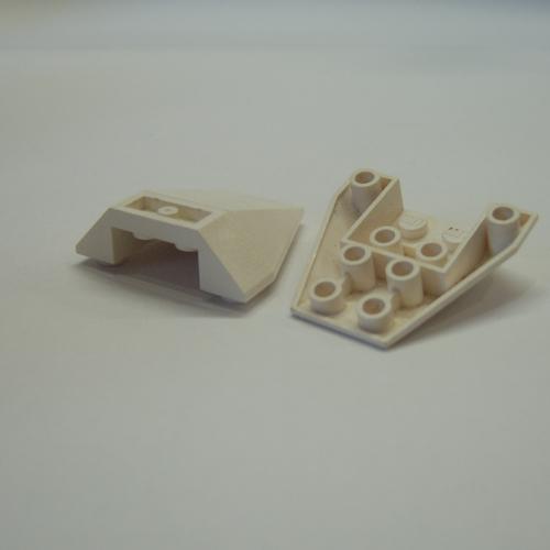 Lego 2x Stein 4x4 Bug Spitze 4855 rot er247