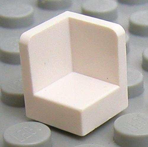 Lego 6231 # 15x Paneele 1x1x1 schwarz 10188 7680