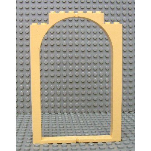 Lego Part 33240 Belville Wall Door Frame Arched Swivel 1