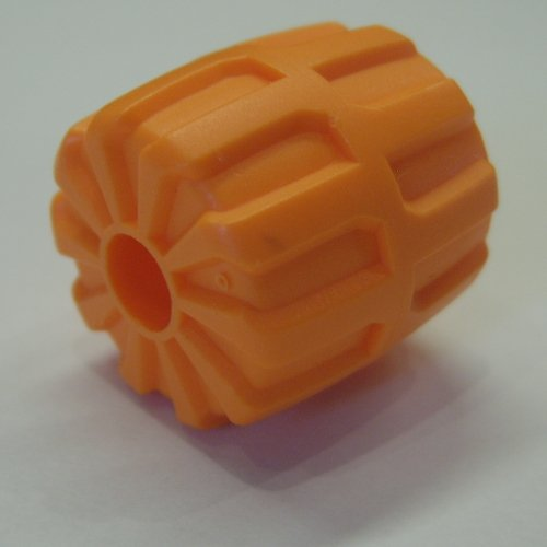 Lego Set Of 4 Red Wheel Hard Plastic Small 22mm D. x 24mm