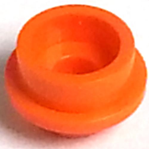 Bright Orange 15 x Lego 6141 Plate Round Round Flat 1x1 NEW NEW
