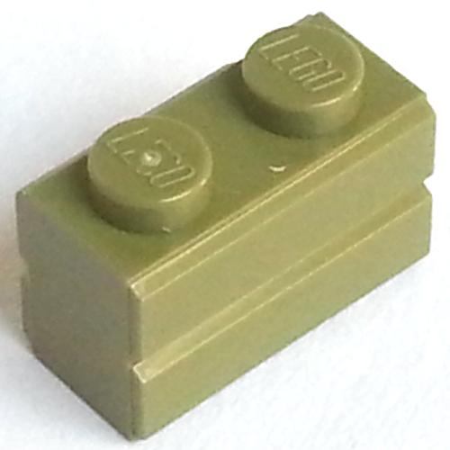 LEGO 10 x Light Grey Masonry Brick 1x2 Part 98283 Good Condition