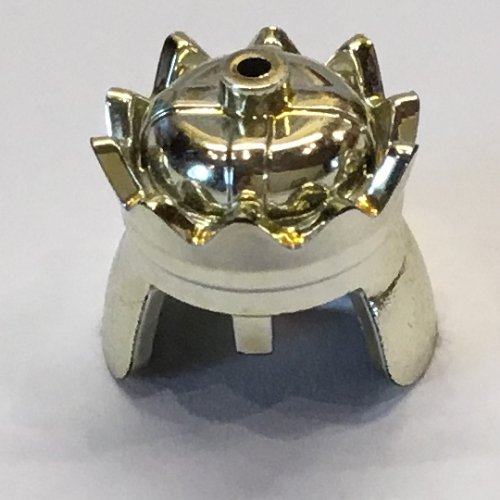 Lego Gold Crown x 10 Chrome Gold for Minifigure