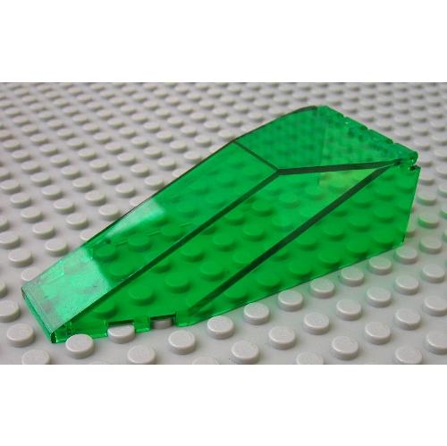 LEGO PART 2507 WINDSCREEN CANOPY 10 X 4 X 2 1//3 CANOPY TRANS LIGHT BLUE