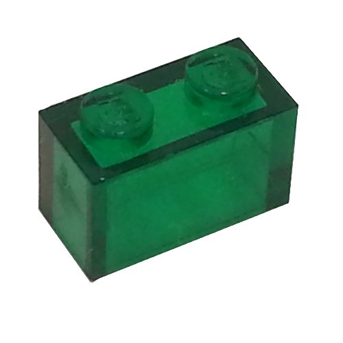 10 NEW LEGO Brick 1 x 2 without Bottom Tube trans red