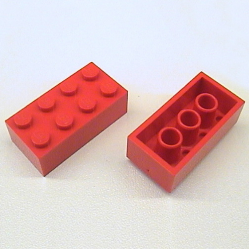 LEGO® Brick White 2 X 4 Part 3001 MOC