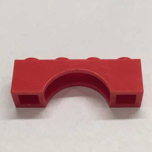 Arch 1 x 4 in Red part no 3659 6x Lego