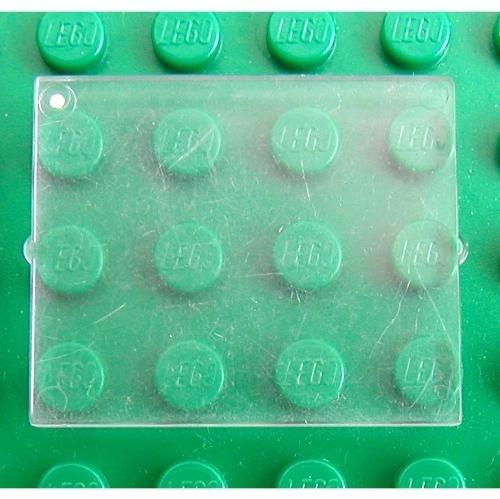 LEGO PART 3855 Glass For Window 1 X 4 X 3