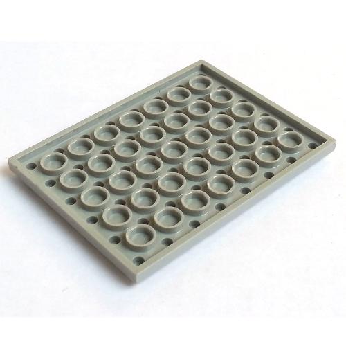 Lego 6x8 Plate Black Blue Gray Dark Tan Green Medium Azure Orange Tan YOU CHOOSE