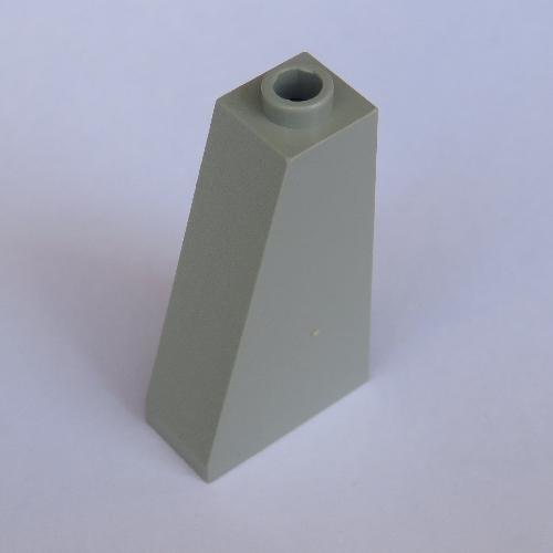 Dachstein Oblique STONE 2 x 1 x 3 3 Piece Slope 75 ° 4460a Grey//OldGray Lego