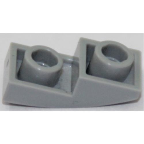 Lego 4 Bright Light Orange 2x1 Curved Smooth Slopes brick block NEW