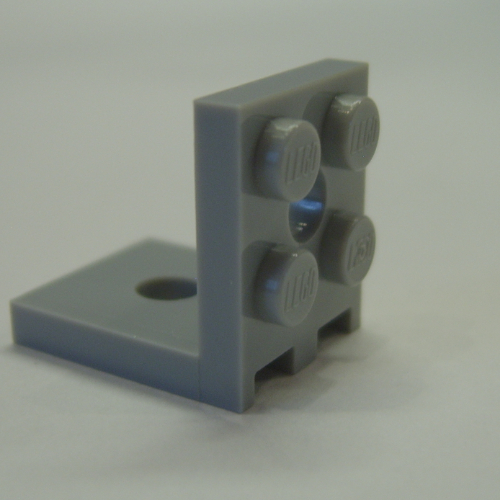 Missing Lego Brick 3956 Blue x 4 Bracket 2 x 2-2 x 2
