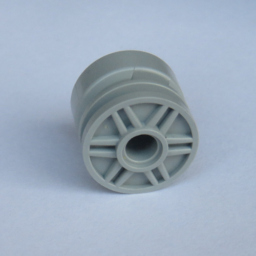 5x LEGO NEW Light Bluish Grey Wheel Rim Pin Hole 4299119 6109684 Brick 55981