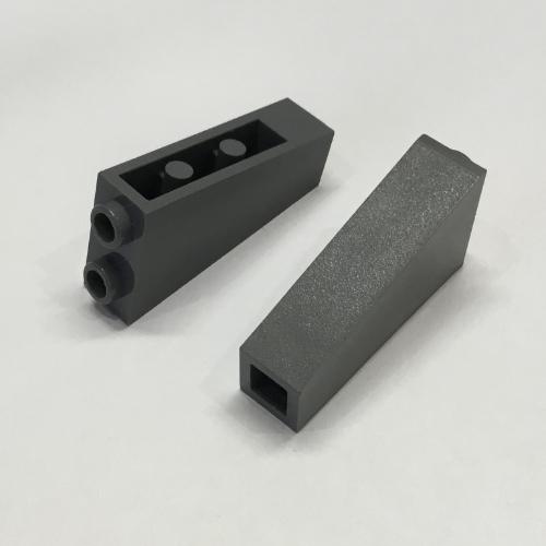 Lego 5 New Dark Bluish Gray Slope 65 2 x 1 x 2 Sloped Pieces
