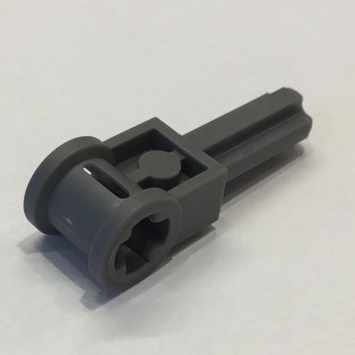 Lego 4 Black technic axle connector with pole axle NEW