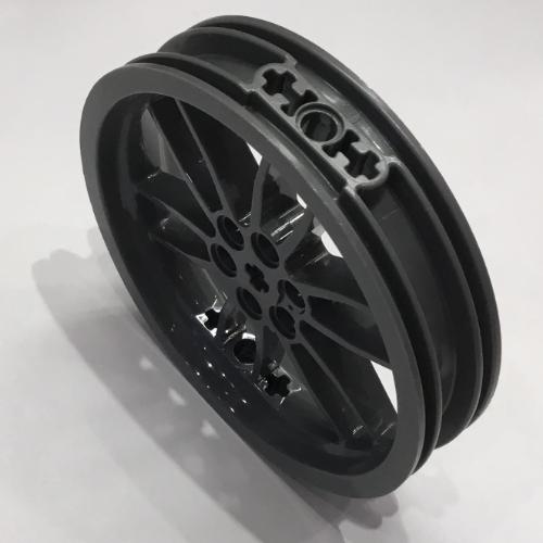 Rim 88517 Dark Bluish Gray Large Motorcycle Racing Rare TIRES 88516 LEGO WHEEL