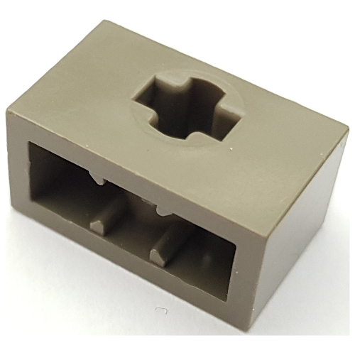 8 1x2 Brown Brick w// Ridges on 2-sides Bricks ~ Lego  ~ NEW ~