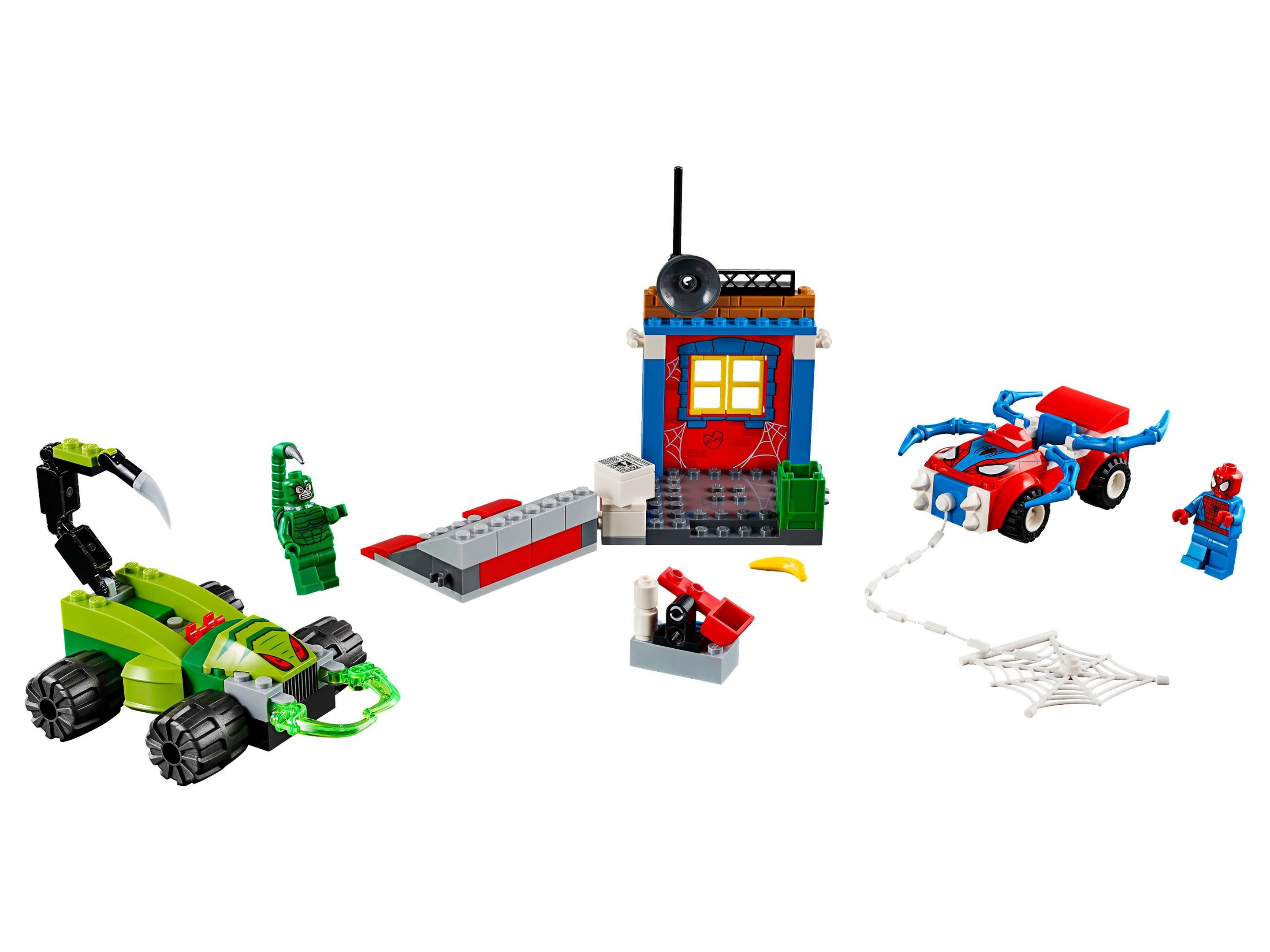 Lego Procure Todos Os Sets Legos Por Categorias E Temas 10720 Juniors Police Helicopter Chase 10754 1 Spider Man Vs Scorpion Street Showdown