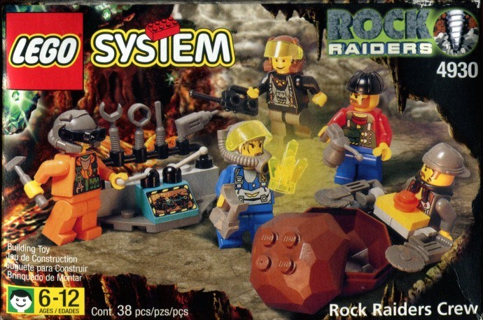 LEGO 4930-1 Rock Raiders - Ninja Brick
