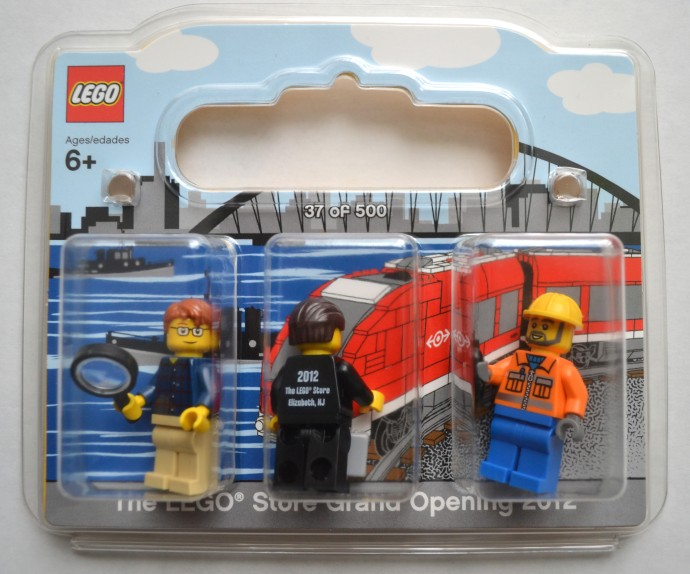 LEGO Elizabeth-1 LEGO Store Grand Opening Exclusive Set, Jersey ...