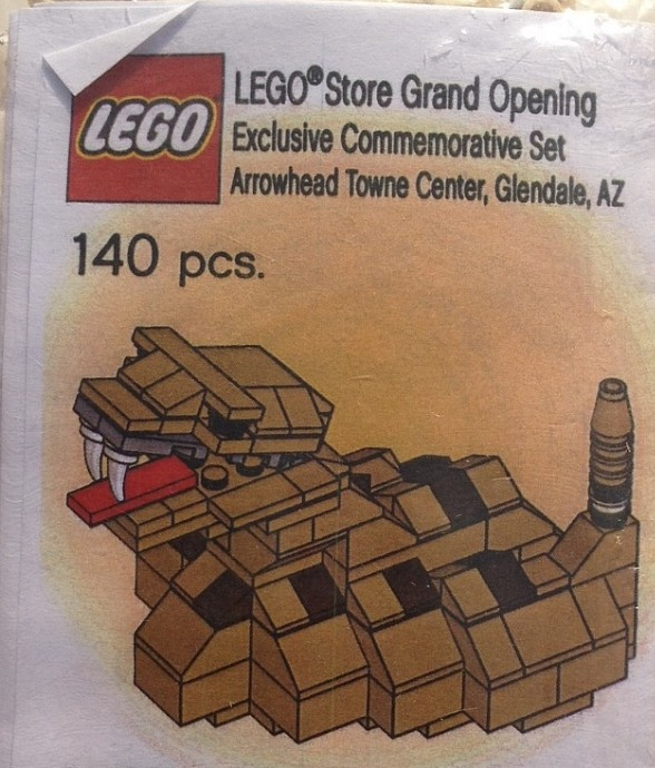 LEGO Glendale-1 LEGO Store Grand Opening Exclusive Set, Arrowhead ...