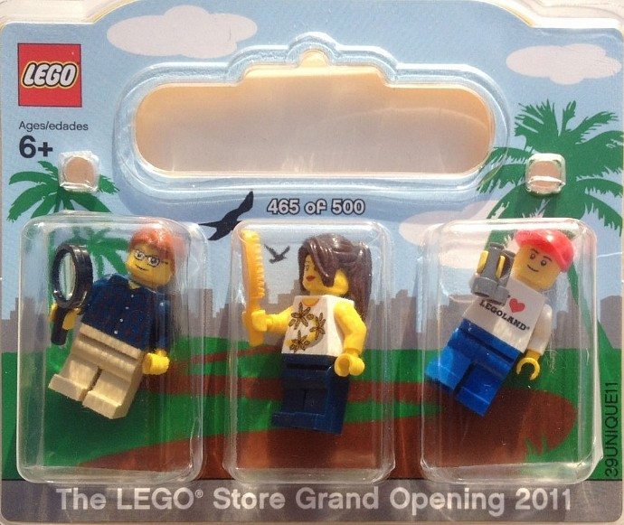 LEGO SanDiego-1 LEGO Store Grand Opening Exclusive Set Fashion ...