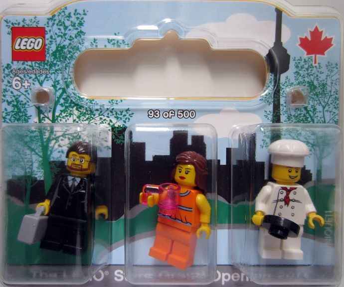LEGO Toronto-2 LEGO Store Grand Opening Exclusive Set, Fairview Mall ...