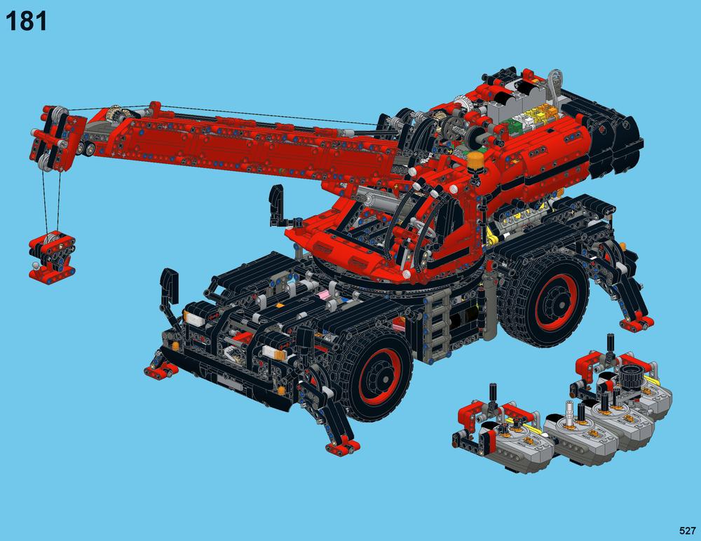 Lego Moc 19477 Ultimate 42082 Technic 2018 Rebrickable Build