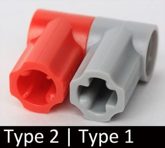 Axle /& Pin Connector #1 Angled LT BL GRAY 32013 8 Technic LEGO Parts ~