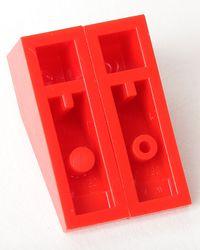 Antigo inclinação 33 ° 3 X 1 ~ 4286 Lt Cinza Peças De Lego ~ 6