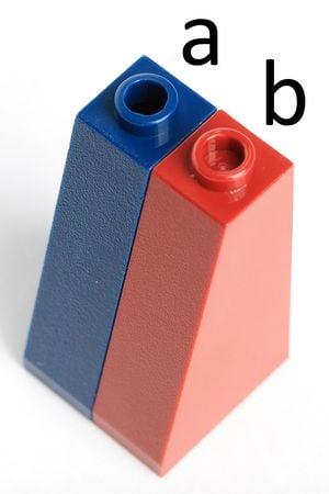 Schrägstein 3 Stück LEGO--4460a- Grau//DKStone Slope 75°-- 2 x 1 x 3