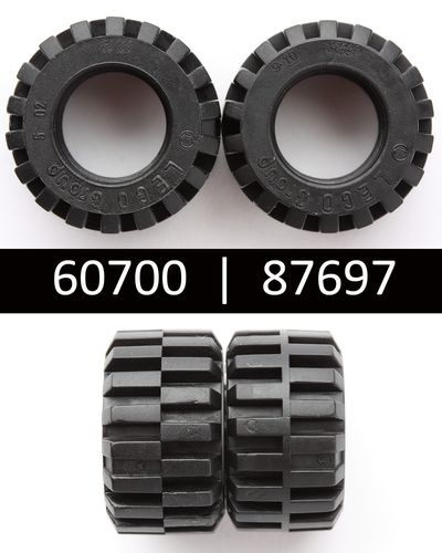 NEW LEGO Part Number 87697 in Black
