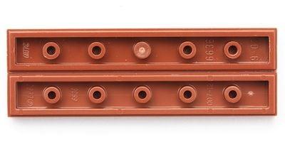 Plate Tile 1x6 light orange jaune orangé NEUF NEW 4 x LEGO 6636 Plaque Lisse