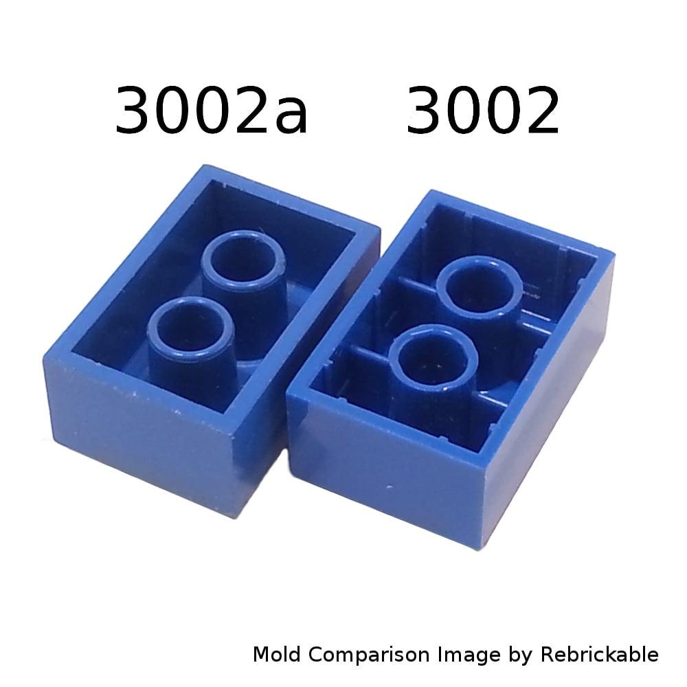 Missing Lego Brick 3002 Blue x 10 Brick 2 x 3