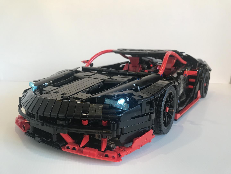 Lego Moc 12560 Lamborghini Centenario Technic Model 2018
