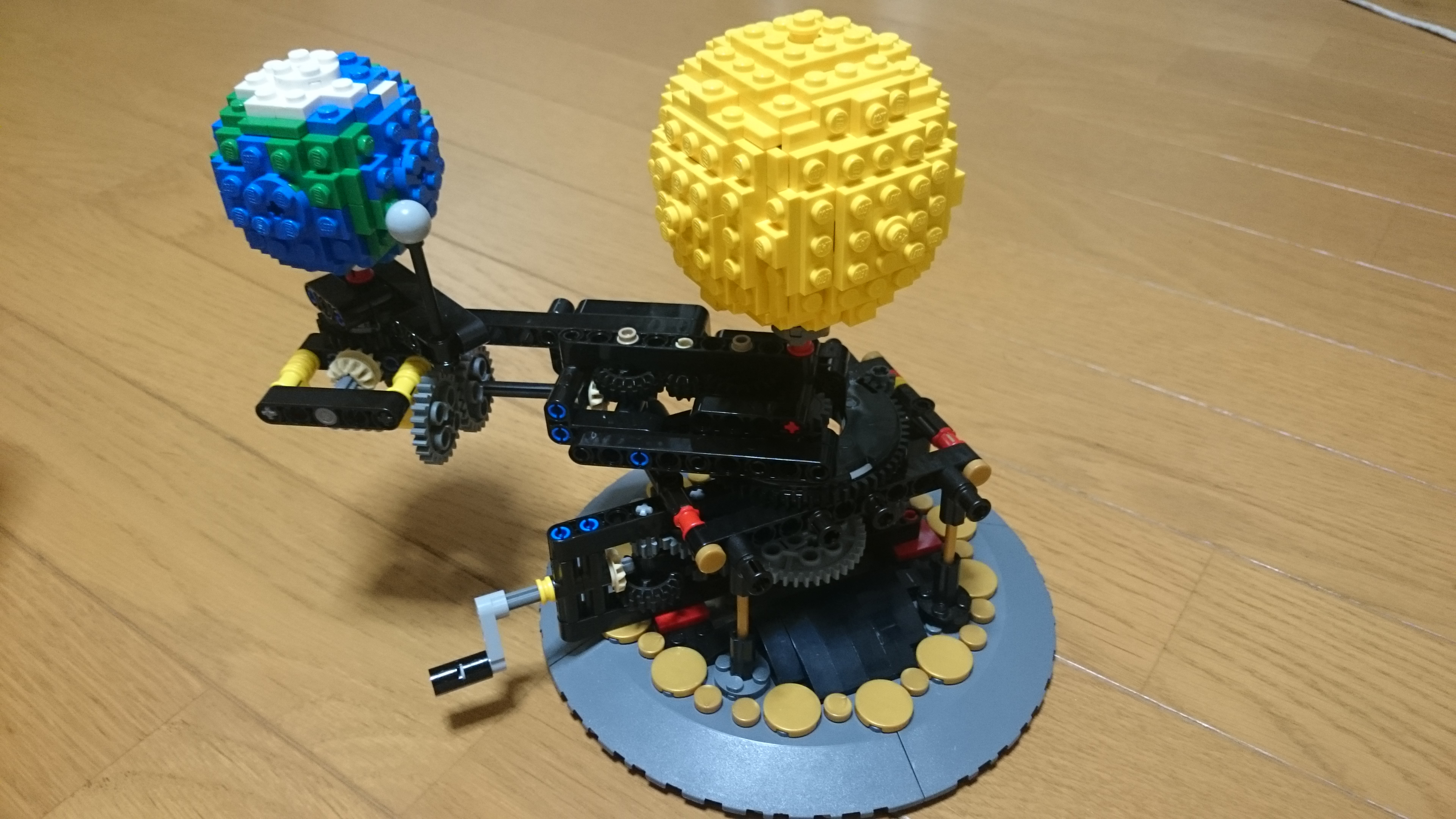 how to build a lego earth